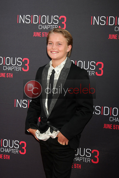 Tate Burney at the &quot;Insidious Chapter 3&quot; Premiere, TCL Chinese Theater, Hollywood, CA 06-04-15<br /> David Edwards/DailyCeleb.com 818-249-4998