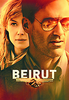 Beirut (2018) <br /> Promotional art with Jon Hamm &amp; Rosamund Pike<br /> *Filmstill - Editorial Use Only*<br /> CAP/MFS<br /> Image supplied by Capital Pictures