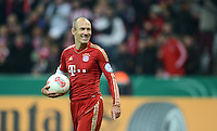 FUSSBALL  DFB POKAL       SAISON 2012/2013 FC Bayern Muenchen - 1 FC Kaiserslautern  31.10.2012 Arjen Robben (FC Bayern Muenchen)