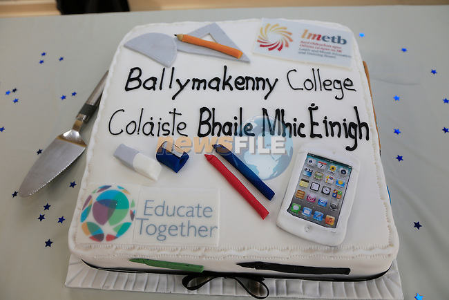 at the opening of the Ballymakenny college in temporary accommodation in Aston Village.<br /> <br /> Picture: Fran Caffrey www.newsfile.ie