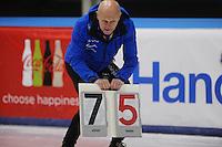 SCHAATSEN: LEEUWARDEN, 22-10-2016, Elfstedenhal,  KNSB Trainingswedstrijden, Henk Hospes, ©foto Martin de Jong