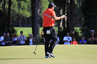 Patrick Reed (USA) during the second round of the Turkish Airlines Open, Montgomerie Maxx Royal Golf Club, Belek, Turkey. 08/11/2019<br /> Picture: Golffile | Phil INGLIS<br /> <br /> <br /> All photo usage must carry mandatory copyright credit (© Golffile | Phil INGLIS)