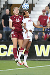 02 December 2011: Florida State's Kristin Grubka (13) and Stanford's Lindsay Taylor (right). The Stanford University Cardinal defeated the Florida State University Seminoles 3-0 at KSU Soccer Stadium in Kennesaw, Georgia in an NCAA Division I Women's Soccer College Cup semifinal game.