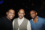 Mekhi Phifer - Ruben Santiago-Hudson & Dule Hill - Broadway's Stick Fly at the Cort Theatre, New York City, New York with after party at 48 Lounge with Alicia Keys and cast - Ruben Santiago-Hudson, Phylicia Rahad (Santa Barbara and OLTL) - mom of Condola (in cast) along with Tracie Thoms, Dulle Hill (Psych), Mekhi Phifer. (Photo by Sue Coflin/Max Photos)