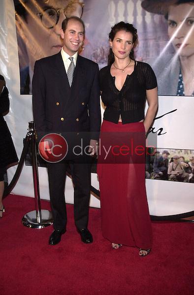 Prince Edward and Julia Ormond