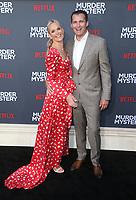 LOS ANGELES, CA - JUNE 10: Molly Sims, Scott Stuber, at the Los Angeles Premiere Screening of Murder Mystery at Regency Village Theatre in Los Angeles, California on June 10, 2019. <br /> CAP/MPIFS<br /> ©MPIFS/Capital Pictures