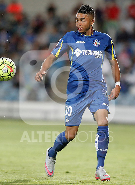 Getafe's Wanderson during La Liga match.September 18,2015. (ALTERPHOTOS/Acero)