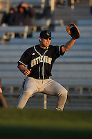 February 26, 2010:  First Baseman Casey Martin (38) of the Notre Dame Fighting Irish during the Big East/Big 10 Challenge at Jack Russell Stadium in Clearwater, FL.  Photo By Mike Janes/Four Seam Images