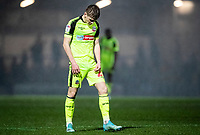 Bolton Wanderers' Ronan Darcy in despair at the end of the match <br /> <br /> Photographer Andrew Kearns/CameraSport<br /> <br /> The EFL Sky Bet League One - Rochdale v Bolton Wanderers - Saturday 11th January 2020 - Spotland Stadium - Rochdale<br /> <br /> World Copyright © 2020 CameraSport. All rights reserved. 43 Linden Ave. Countesthorpe. Leicester. England. LE8 5PG - Tel: +44 (0) 116 277 4147 - admin@camerasport.com - www.camerasport.com