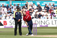 Neil Wagner in bowling action for Essex during Essex Eagles vs Yorkshire Vikings, Royal London One-Day Cup Play-Off Cricket at The Cloudfm County Ground on 14th June 2018