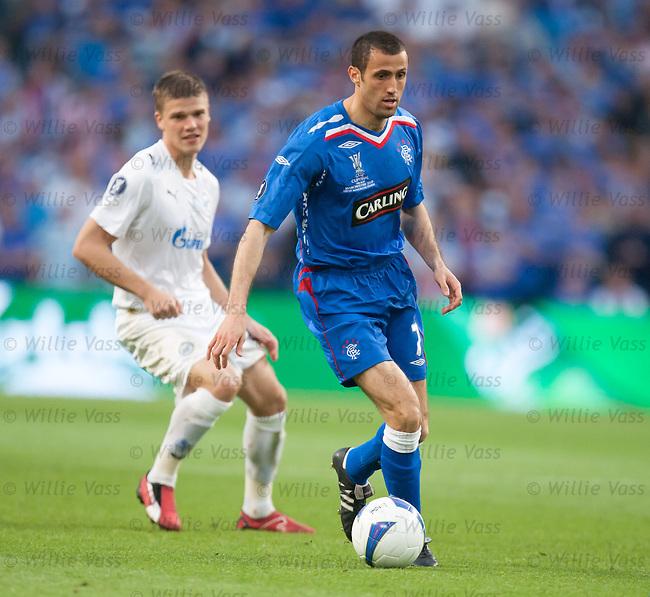 Brahim Hemdani back in midfield in europe