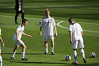 Pictured: Alan Tate of Swansea City during the pre match warm up<br /> Coca Cola Championship, Swansea City FC v Burnley at the Liberty Stadium, Swansea. Saturday 20 September 2008.