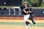 WINSTON-SALEM, NC - JUNE 04: Maryland's Nick Dunn. The West Virginia University Mountaineers played the University of Maryland Terrapins on June 4, 2017, at David F. Couch Ballpark in Winston-Salem, NC in NCAA Division I College Baseball Tournament Winston-Salem Regional Game 5. West Virginia won the game 8-5.