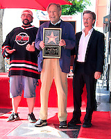 LOS ANGELES - FEB 14:  Kevin Smith, George Segal, David Spade at the George Segal Star Ceremony at the Hollywood Walk of Fame on February 14, 2017 in Los Angeles, CA