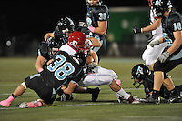 Johns Hopkins Bluejays took on the Dickinson Red Devils at Homewood Field Friday night and remain undefeated as they won 47 - 6.