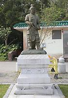 The Twelve Divine Generals - The General Pajra - at Ngong Ping Village, Lantau Island, Hong Kong, China