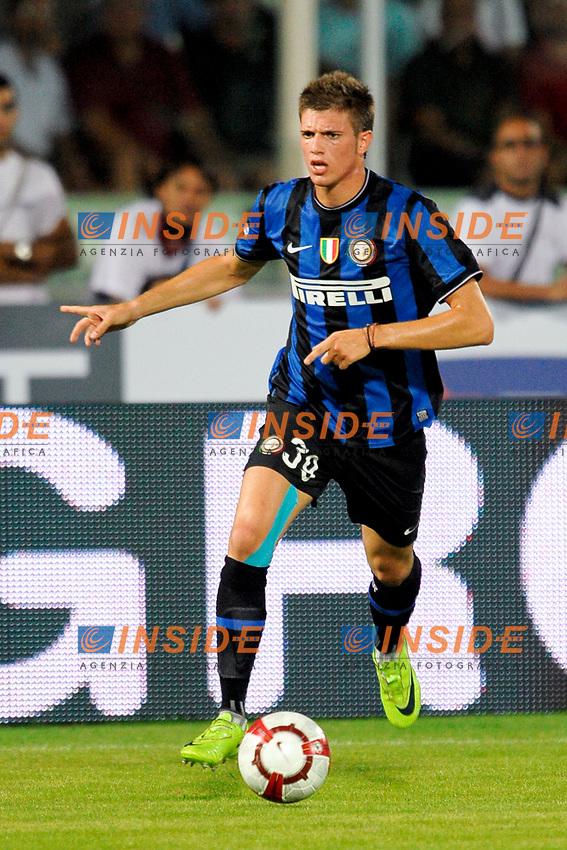 Davide SANTON Inter<br /> Pescara 14/8/2009 Stadio &quot;Adriatico&quot; <br /> Trofeo Tim Calcio 2009/2010<br /> Juventus Inter 1-1 (7-6 a.p.)<br /> Foto Andrea Staccioli Insidefoto
