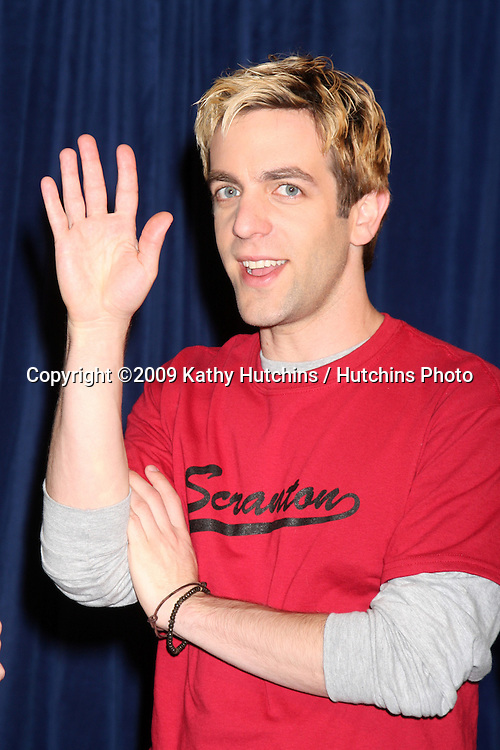 """BJ Novak  - 100th Episode of """"The Office""""  On Location at Calamigos Ranch in Malibu , CA on April 14, 2009.©2009 Kathy Hutchins / Hutchins Photo....                ."""