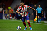 Renan Lodi of Atletico de Madrid during the UEFA Europa League match between Atletico de Madrid and Bayer 04 Leverkusen at Wanda Metropolitano Stadium in Madrid, Spain. October 22, 2019. (ALTERPHOTOS/A. Perez Meca)