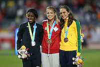 TORONTO, CANADÁ, 22.07.2015 - PAN-ATLETISMO -Flávia de Lima conquista medalha de bronze nos 800 metros no atletismo nos Jogos Panamericanos na cidade de Toronto no Canadá, nesta quarta-feira, 22 (Foto: Vanessa Carvalho/Brazil Photo Press)