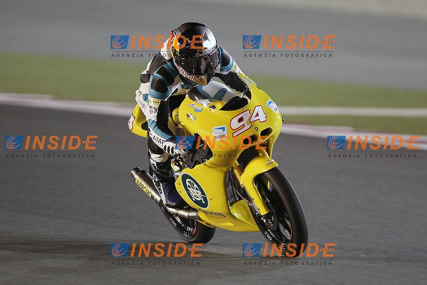 Jonas Folger - MZ racing team Moto3.05-04-2012 Doha (QATAR).Motomondiale Gp Qatar.Foto Semedia / Insidefoto