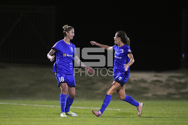 Boyds, MD - Saturday September 30, 2017: Larissa Crummer during a regular season National Women's Soccer League (NWSL) match between the Washington Spirit and the Seattle Reign FC at Maureen Hendricks Field, Maryland SoccerPlex.