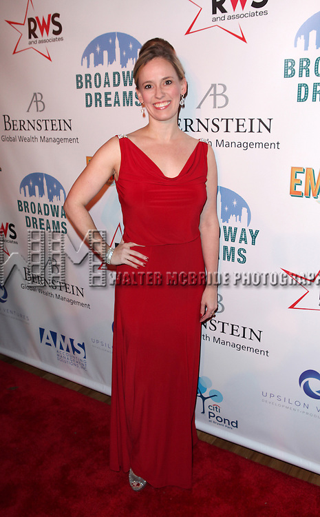 Rachel Hoffman  attending the Broadway Dreams Foundation's 'Champagne & Caroling Gala' at Celsius at Bryant Park, New York on December 10, 2012