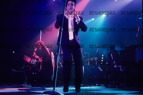PRINCE - performing live on the Parade Tour at Le Zenith in Paris France - 25 Aug 1986.  Photo credit: Louis Vincent/Dalle/IconicPix **UK ONLY**