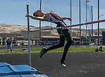 "Dayton's Jonathan Ply won the boys high jump during the Reed Sparks Rotary Invitational track and field event at Reed High School in Sparks, Saturday, April 1, 2017.  He tied his personal best with a 6' 10"" jump."