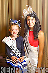 Ottawa Rose Keira Kilmartin pictured with her Rosebud Jessica Murphy at the Carlton Hotel at the Rose of Tralee on Friday.