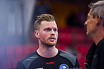 THOR GUNNARSSON, Arnor (#11 Bergischer HC)  beim Spiel in der Handball Bundesliga, TVB 1898 Stuttgart - Bergischer HC.<br /> <br /> Foto © PIX-Sportfotos *** Foto ist honorarpflichtig! *** Auf Anfrage in hoeherer Qualitaet/Aufloesung. Belegexemplar erbeten. Veroeffentlichung ausschliesslich fuer journalistisch-publizistische Zwecke. For editorial use only.