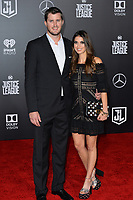 Drew Pomeranz &amp; Carolyn Esserman at the world premiere for &quot;Justice League&quot; at The Dolby Theatre, Hollywood. Los Angeles, USA 13 November  2017<br /> Picture: Paul Smith/Featureflash/SilverHub 0208 004 5359 sales@silverhubmedia.com