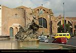Naiad of the Lakes Fontana delle Naiadi and Santa Maria degli Angeli e dei Martiri Piazza della Repubblica Rome