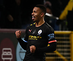 Gabriel Jesus of Manchester City celebrates his second goal during the Premier League match at Turf Moor, Burnley. Picture date: 3rd December 2019. Picture credit should read: Simon Bellis/Sportimage