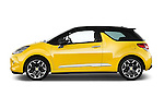Driver side profile view of a 2013 Citroen DS3 Sport Chic 3 Door Hatchback 2WD