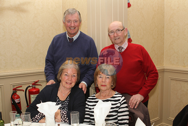 Patsie, Roy, Jenny and Frankie at the Ushers Reunion in the Westcourt Hotel...(Photo credit should read Jenny Matthews/NEWSFILE)...