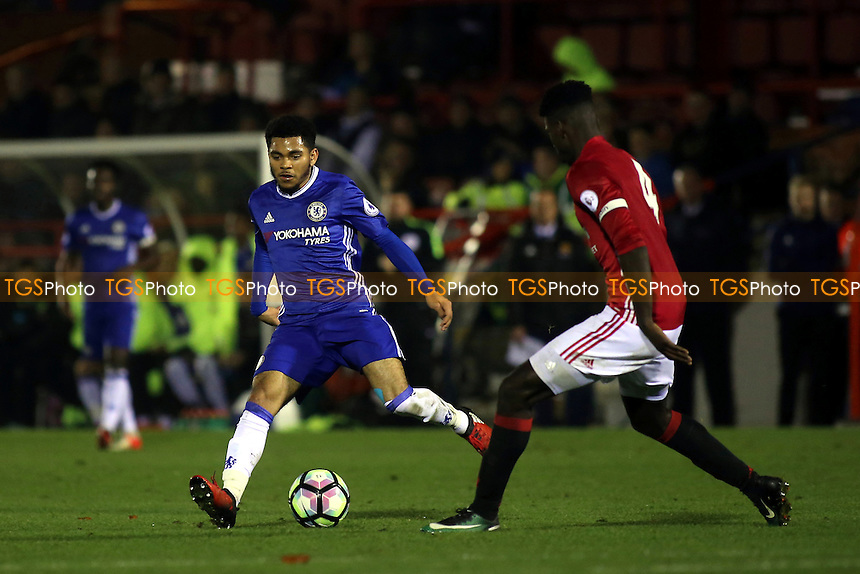 Jay DaSilva of Chelsea in action during Chelsea Under-23 vs Manchester United Under-23, Premier League 2 Football at the EBB Stadium on 9th December 2016
