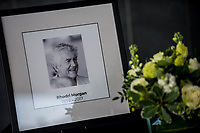 2017 05 18 Book of condolences for Rhodri Morgan at The Senedd,Cardiff, Wales, UK