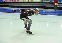 SCHAATSEN: HEERENVEEN: 14-12-2014, IJsstadion Thialf, ISU World Cup Speedskating, Heralds Silovs (LAT), ©foto Martin de Jong
