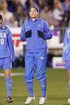 05 December 2008: UCLA's Kara Lang (CAN). The University of North Carolina Tar Heels defeated the University of California Los Angeles Bruins 1-0 at WakeMed Soccer Park in Cary, NC in an NCAA Division I Women's College Cup semifinal game.