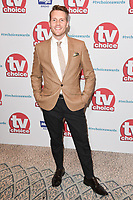 Chris Harper at the TV Choice Awards 2017 at The Dorchester Hotel, London, UK. <br /> 04 September  2017<br /> Picture: Steve Vas/Featureflash/SilverHub 0208 004 5359 sales@silverhubmedia.com