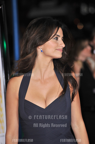 "Penelope Cruz at the Los Angeles premiere of her new movie ""Vicky Cristina Barcelona"" at the Mann Village Theatre, Westwood..August 4, 2008  Los Angeles, CA.Picture: Paul Smith / Featureflash"