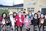 VOTE FOR US: A group from Killorglin Family Resource Centre who are hoping to fund a playground if they win money through the AIB Better Ireland programme, front l-r: Patricia Maher, Tracey Cronin, Noelle O'Sullivan, Maureen Gamble, Margaret Wrenn, Jeanne Hughes. Back l-r: Kathleen Bailey, Kathleen Morris, Margaret Mangan, Margaret Wrenn.