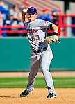 6 March 2010: New York Mets' infielder Shawn Bowman in action during a Spring Training game against the Washington Nationals at Space Coast Stadium in Viera, Florida. The Mets defeated the Nationals 14-6 in Grapefruit League action. Mandatory Credit: Ed Wolfstein Photo