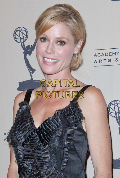 Julie Bowen.63rd Primetime Emmy Writers Nominee Reception held at the Leonard H. Goldenson Theatre, North Hollywood, California, USA..September 15th, 2011.half length dress black ruffle.CAP/ADM/ES.©Emiley Schweich/AdMedia/Capital Pictures.