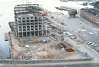 1983 October ..Redevelopment.Downtown West (A-1-6)..CONSTRUCTION PROGRESS VIEWS.BOUSH COLD STORAGE.HARBOR PLACE CONDOS...NEG#.NRHA#..