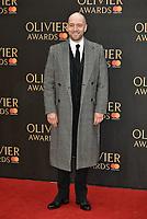 Derren Brown<br /> The Olivier Awards 2018 , arrivals at The Royal Albert Hall, London, UK -on April 08, 2018.<br /> CAP/PL<br /> &copy;Phil Loftus/Capital Pictures
