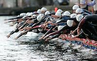30 JUN 2007 - COPENHAGEN, DEN - Junior womens swistart at the European Triathlon Championships. (PHOTO (C) NIGEL FARROW)