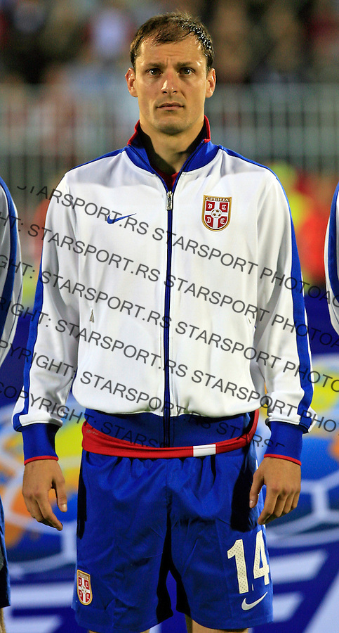 Milan Jovanovic Sport Fudbal Reprezentacija Soccer Serbia National Team Cameroon Friendly FIFA World Cup 2010 Be;grade Serbia Beograd Srbija 5.6.2010. photo: Pedja Milosavljevic / STARSPORT / thepedja@gmail.com / +381641260959