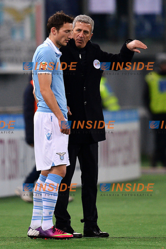 Libor Kozak, Vladimir Petkovic Lazio .Roma 26/1/2013 Stadio Olimpico.Football Calcio 2012/2013 Serie A.Lazio Vs Chievo .Foto Andrea Staccioli Insidefoto